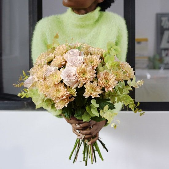 Coco Blush Chrysanthemums Bouquet