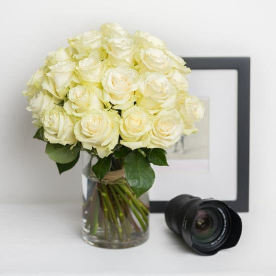 Roses White Rose Bouquet