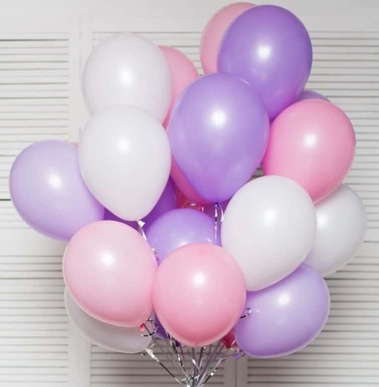 Balloons for holidays